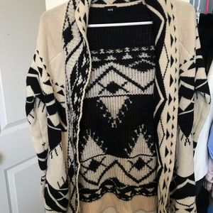 Aztec cardigan by Fate